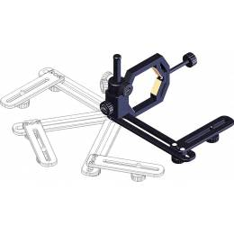 Support microstage II Baader escamotable