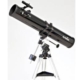 Télescope 114/900 Sky-Watcher sur EQ1 motorisée