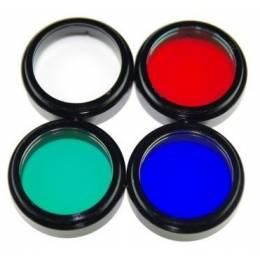 Set de 4 filtres LRGB 31,75mm ZWO