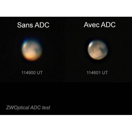 Correcteur de Dispersion Atmosphérique (ADC) ZWO 31,75mm