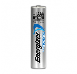 Pile AAA (LR3) lithium 1,5V Energizer Ultimate