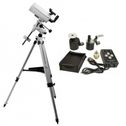 Télescope ARIETIS 127/1500 EQ3-2 motorisable Perl