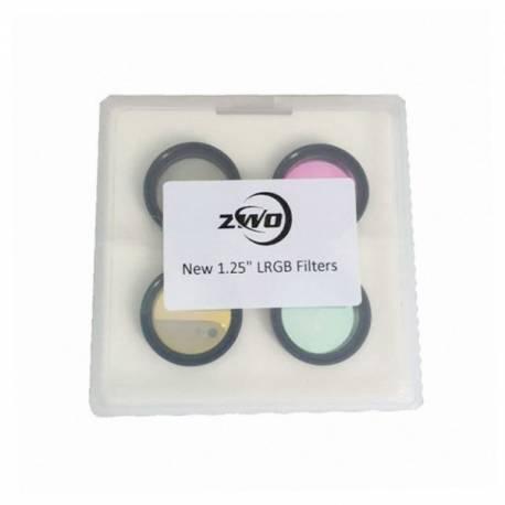 4 filtres LRGB pour ASI1600