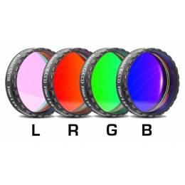 Jeu de 4 filtres Baader CCD LRGB filetage 31,75 mm