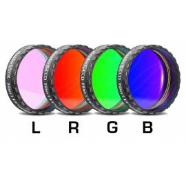 Jeu de 4 filtres Baader CCD LRGB filetage 31,75 mm