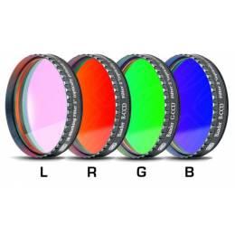 Jeu de 4 filtres Baader CCD LRGB filetage 50.8 mm
