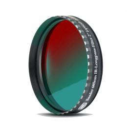 Filtre IR Pass 685 nm, plan parallèle, filetage standard 50,8 mm