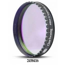 Filtre Clair (focalisation), coulant standard 50.8 mm avec barillet faible épaisseur (LPFC)
