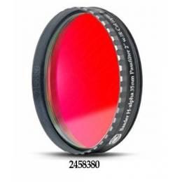Filtre H-alpha CCD 35nm, plan parallèle, filetage standard 50.8 mm, avec barillet faible épaisseur (LPFC)