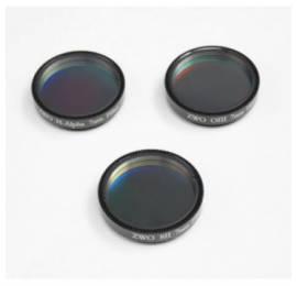 Set de 3 filtres SHO 7 nm ZWO