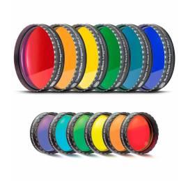 Jeu de 6 filtres colorés