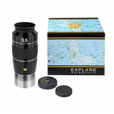 """Oculaire Explore Scientific 100° Oculaire 5,5mm (2"""")"""