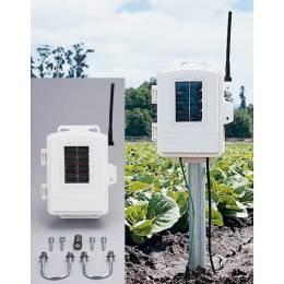 Station météo auxiliaire humectation du feuillage / humidité & température du sol