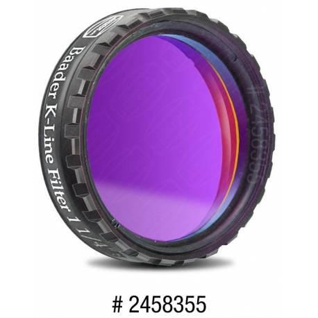 Filtre K-Line Baader en 31,75 mm avec feuille AstroSolar A4 de densité 3,8