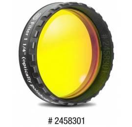 Filtre coloré planétaire jaune 31.75 ou 50.8 mm
