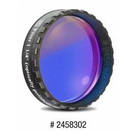 Filtre coloré planétaire bleu foncé 31.75 ou 50.8 mm