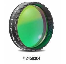 Filtre coloré planétaire vert 31.75 ou 50.8 mm