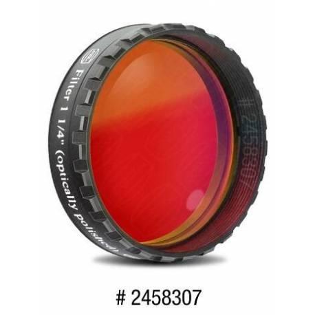Filtre coloré planétaire rouge 31.75 mm