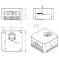 caméra ZWO ASI1600GT monochrome avec roue à filtres