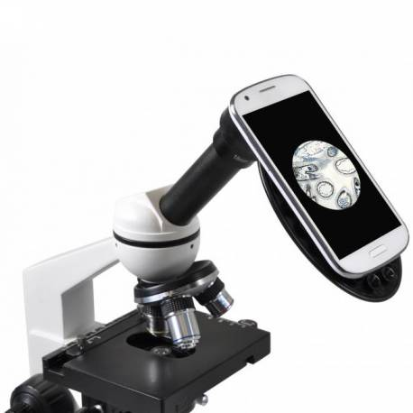 Microscope monoculaire Eridit basic 40x à 400x Bresser
