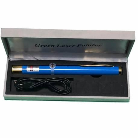 Pointeur laser 50mW rechargeable Bleu