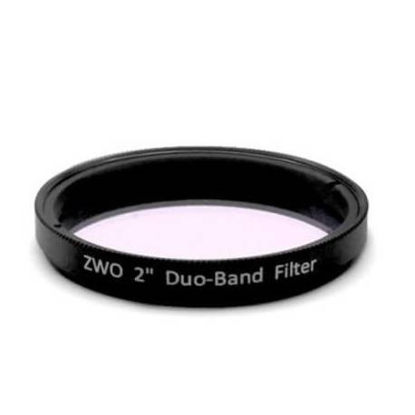 Filtre Duo-Band 50.8 mm Zwo