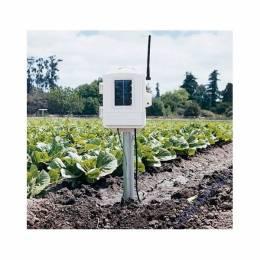 Station météo auxiliaire humidité & température du sol avec 4 sondes Watermark et 4 sondes de températures