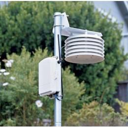 Station météo sans fil pour la mesure de la température et de l'humidité relative de l'air