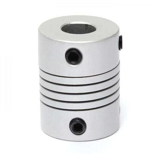 Coupleur d'axe 8mm vers 8mm pour moteur pas à pas