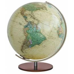 Globe Terrestre Royal avec pied bois