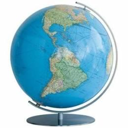 Globe Terrestre Duo avec pied en métal 51cm