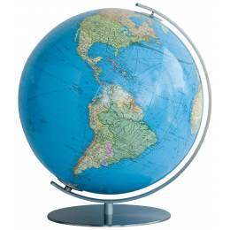 Globe Terrestre Duo avec pied en métal 40 cm
