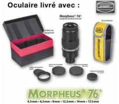 Oculaires Morpheus et accessoires