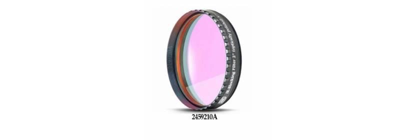 Filtres photographiques L (UV/IR Cut), filtres verre clair, filtres L/Booster (UHC-S)