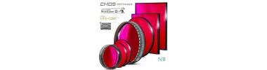 Filtres CMOS H-alpha Narrowband 31,75 et 50,8 mm