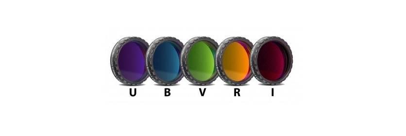 Filtres photométriques UBVRI