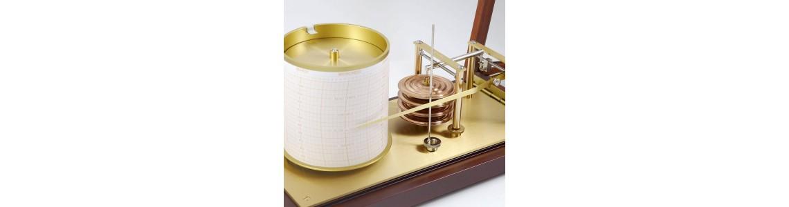 Baromètres enregistreurs - Barographes