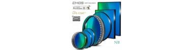 Filtres CMOS O-III Narrowband 31,75 et 50,8 mm