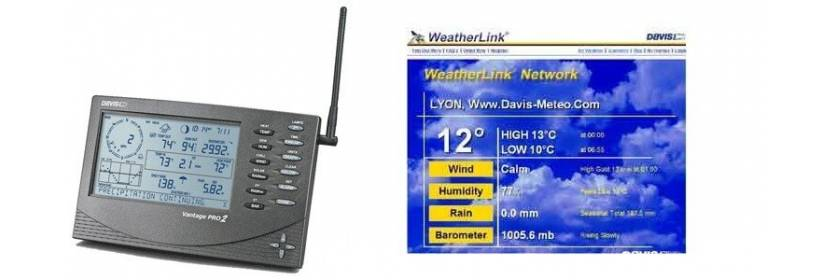 Station météo Pro Davis