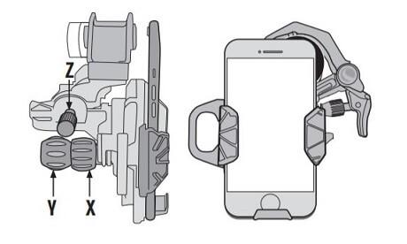 Adaptateur Smartphone Celestron NexYZ - Aligner et capturer