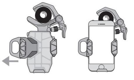 Adaptateur Smartphone Celestron NexYZ - Fixation de votre téléphone
