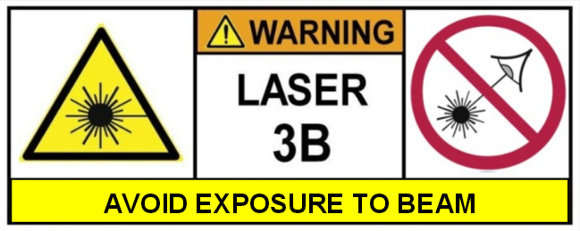 Pointeur laser vert 3B