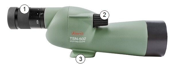 Longue-vue Kowa TSN-501 avec visée droite