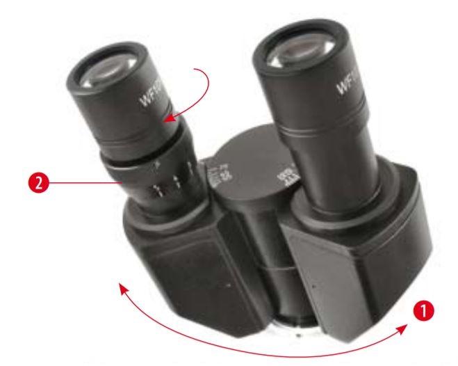 Tête du microscope Bresser Bioscience 40-1000x trinoculaire