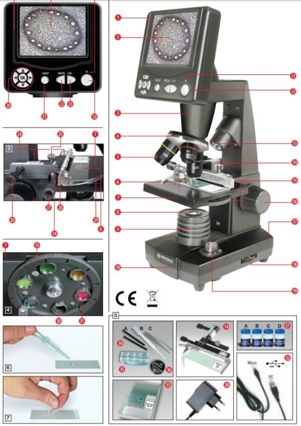 Microscope électronique Bresser