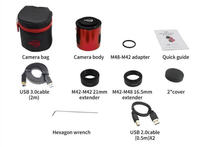Caméra refroidie monochrome ZWO ASI2600MM-P