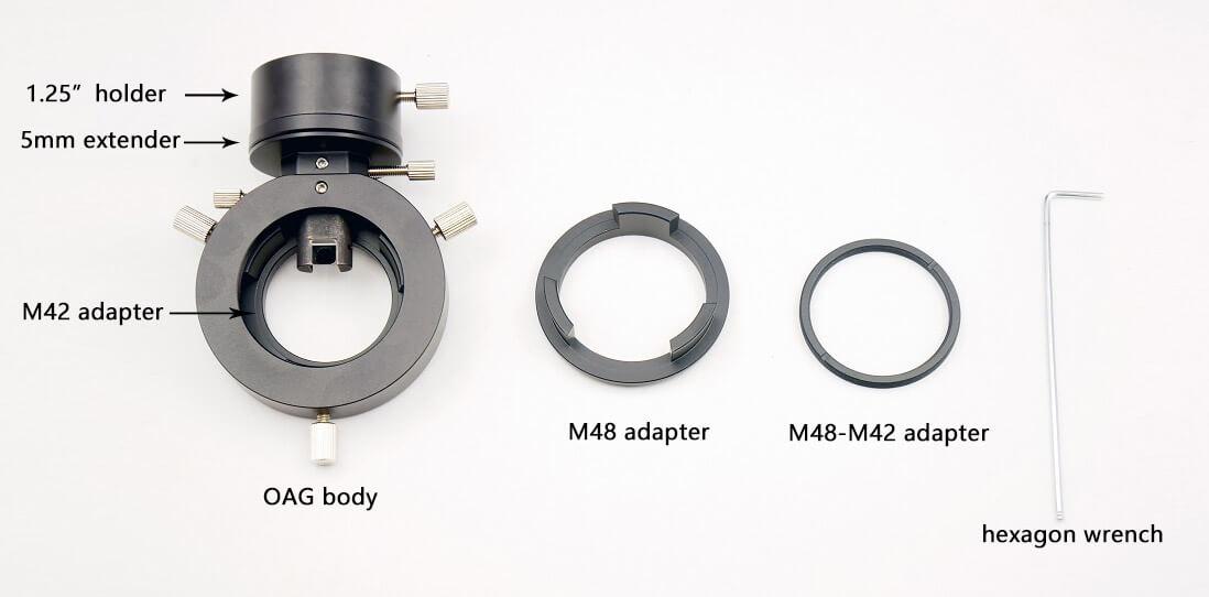 Accessoires diviseur optique AOG ZWO