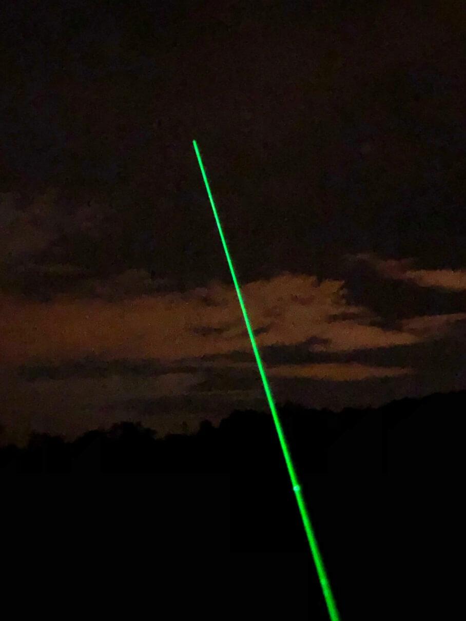 laser pour l'astronomie