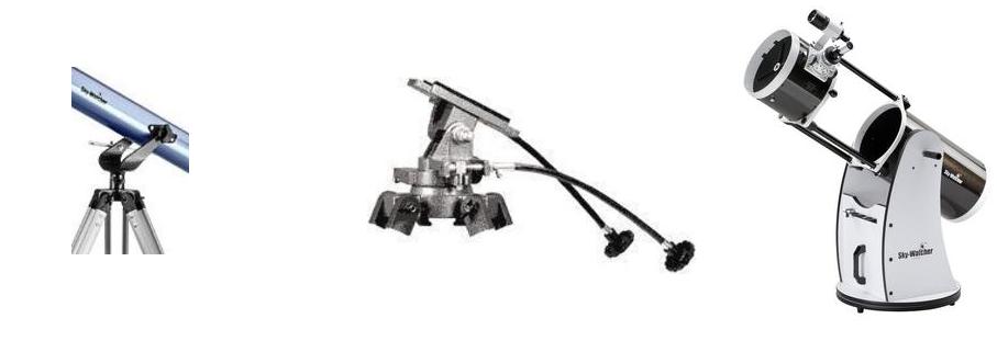Choisir le bon télescope, c'est sutout choisir la bonne monture du télescope