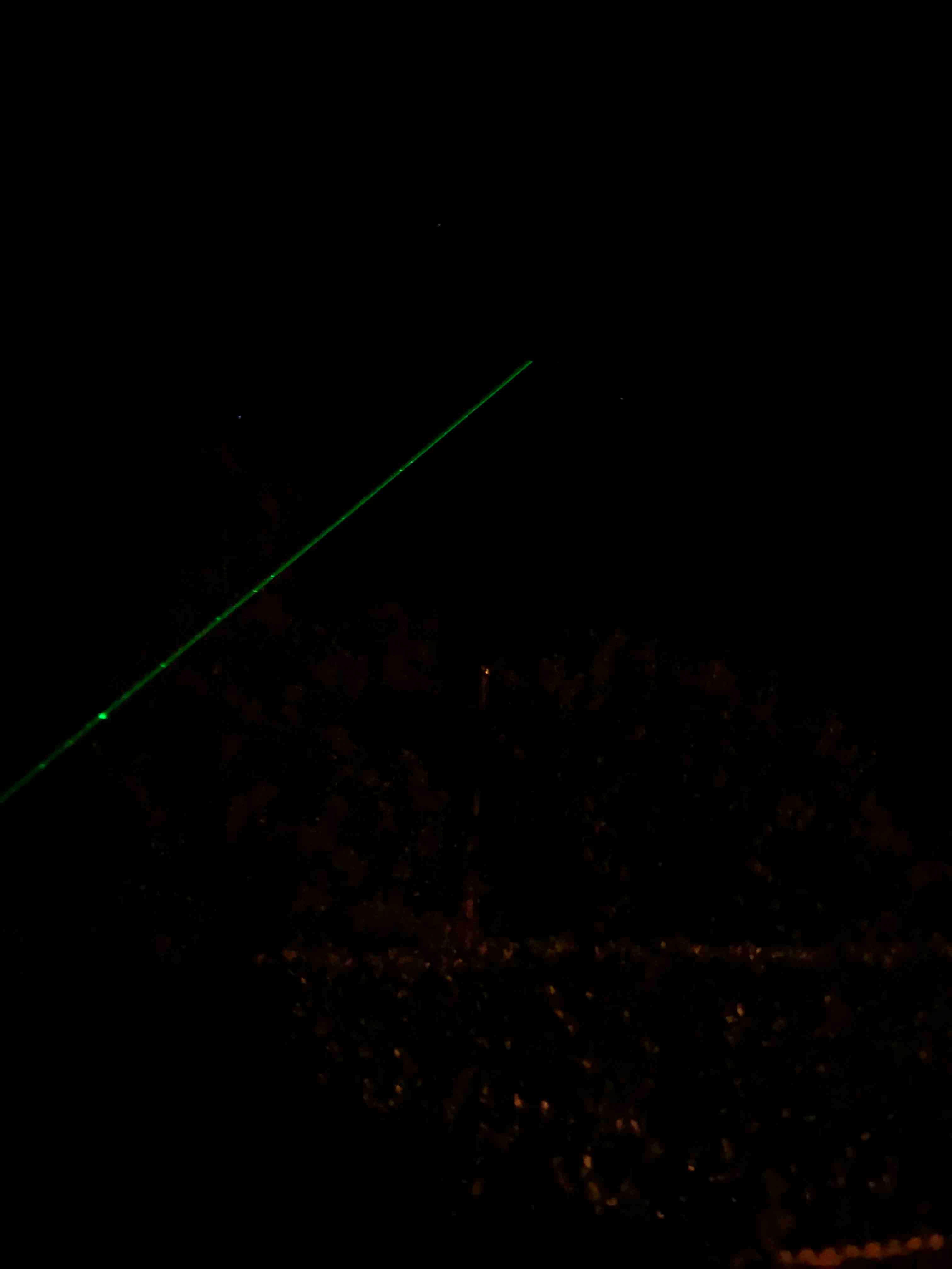 Pointeur laser astronomie classe 3B autorisé en France